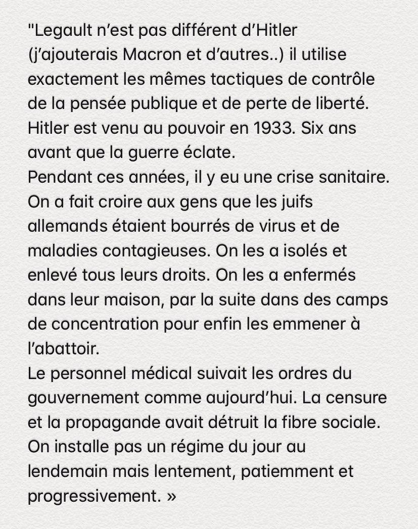 Legault, Macron et les autres…